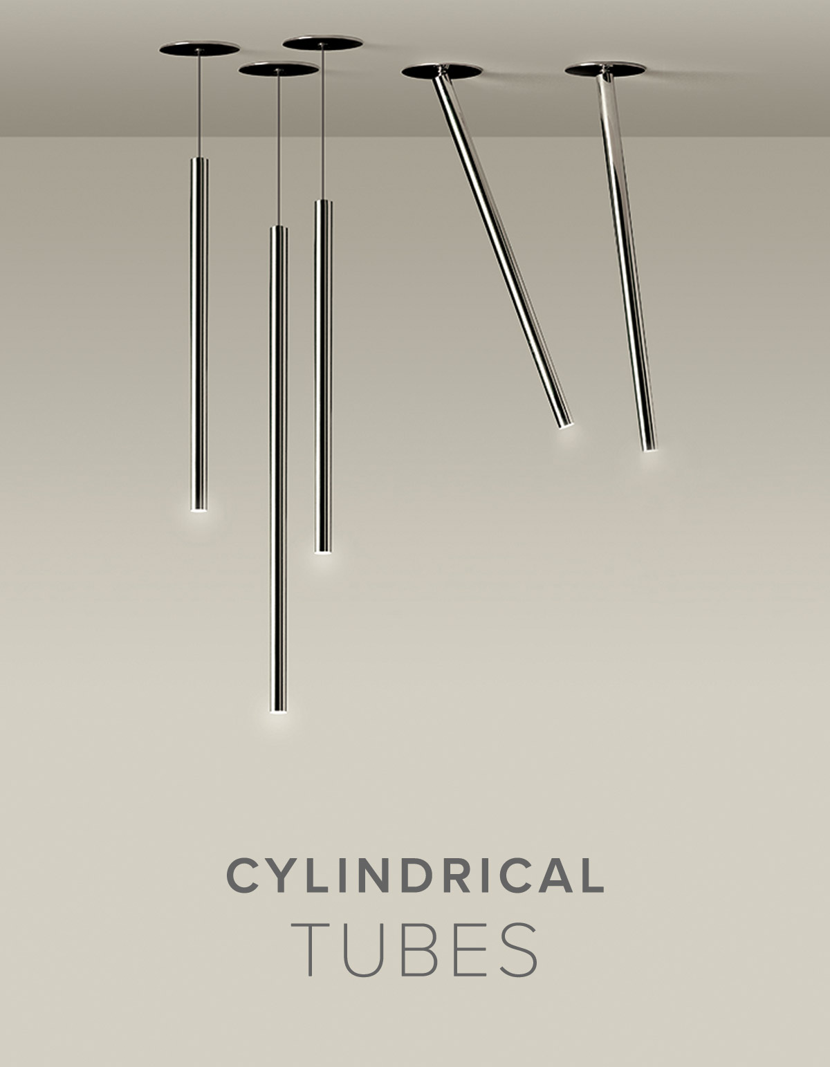 Cylindrical Ceiling Lights