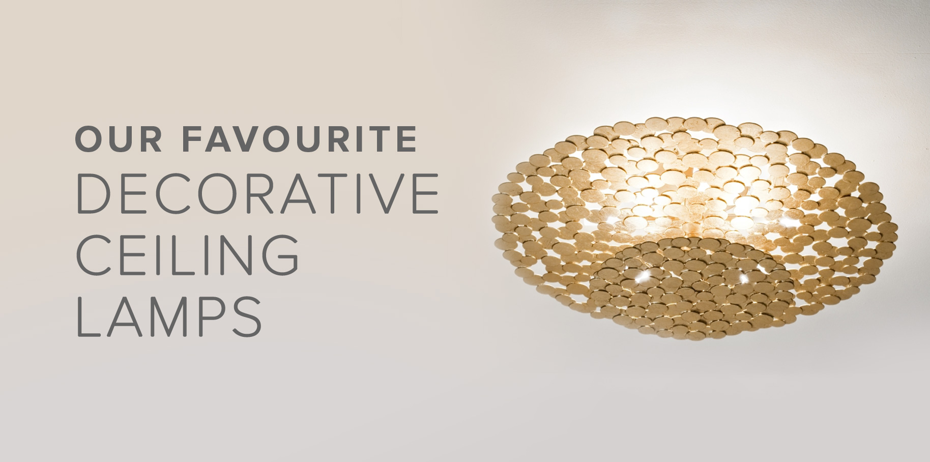 Our Favourite Decorative Ceiling Lamps