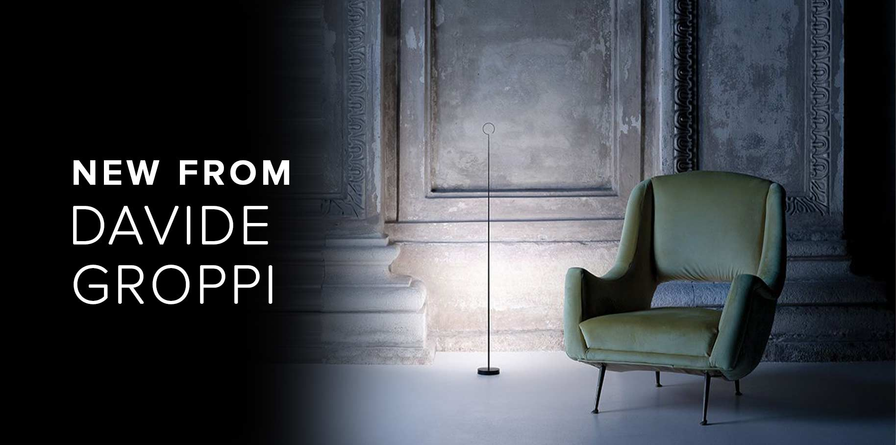 New Davide Groppi Floor Lamps