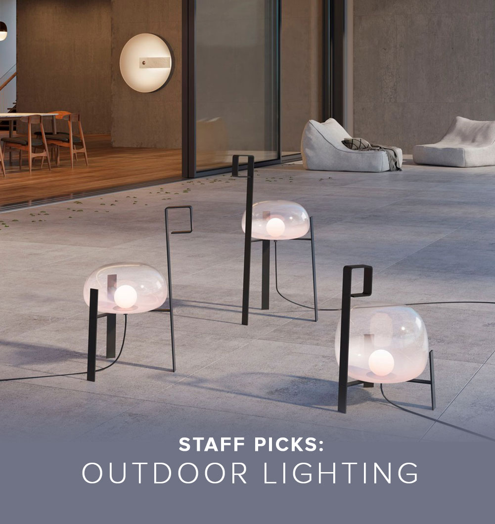 Staff Picks: Outdoor Lighting