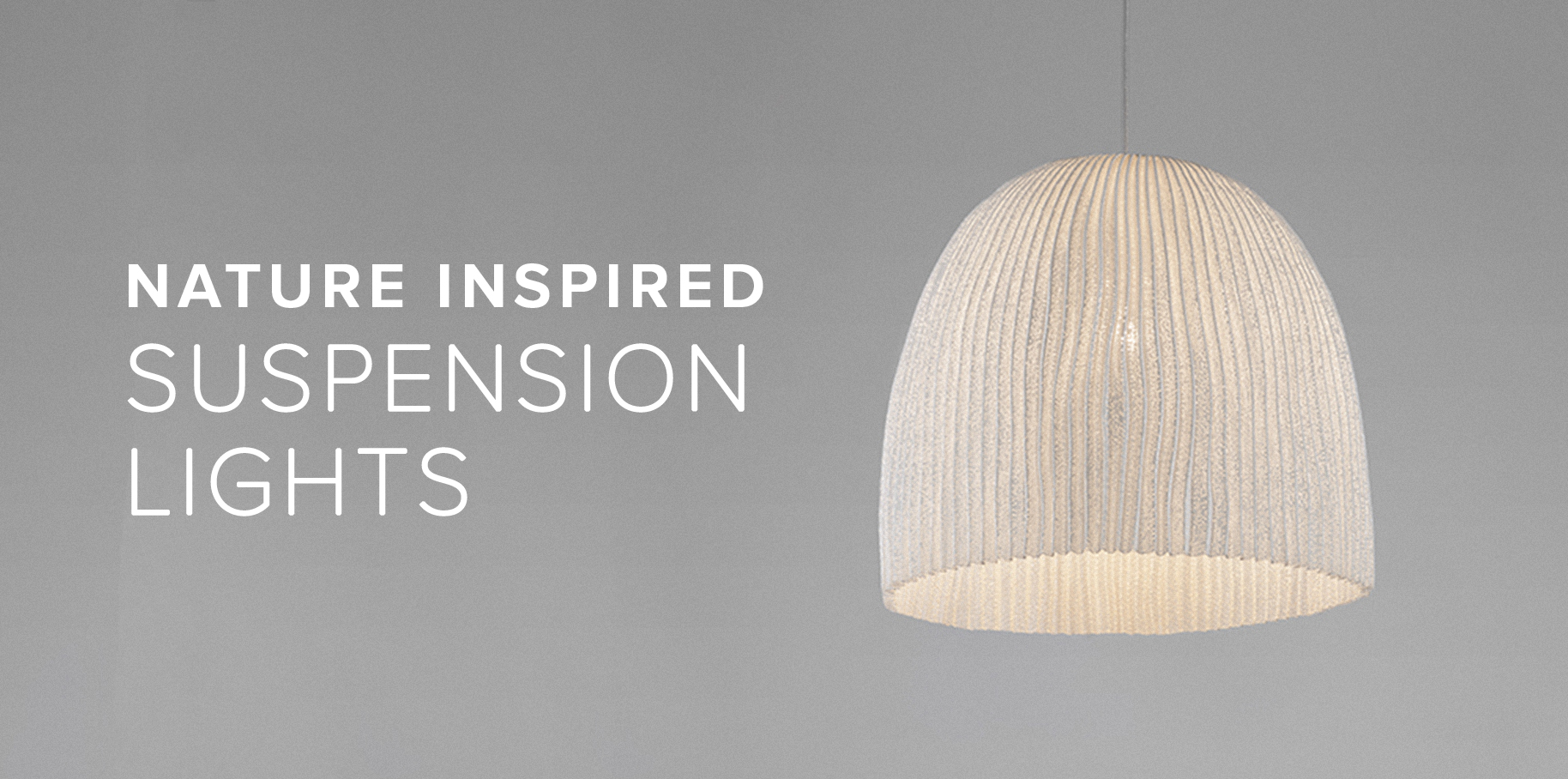 Nature Inspired Suspension Lights