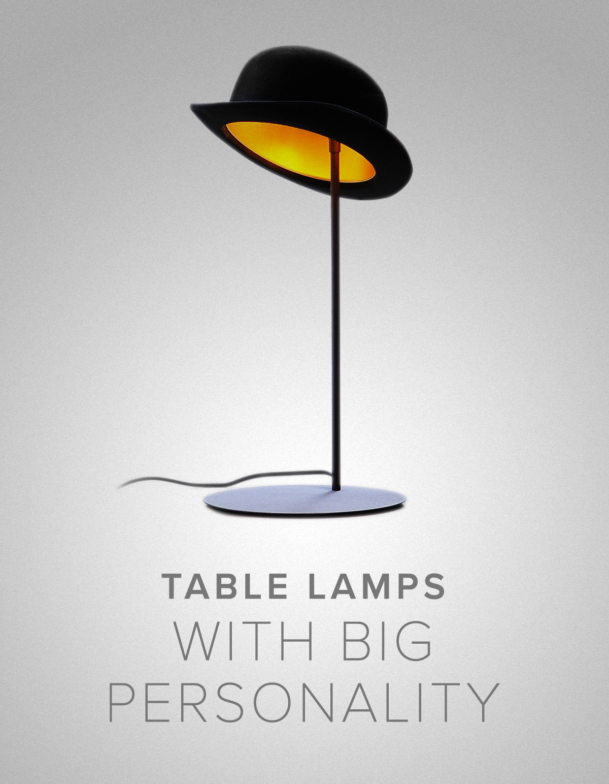 Big Personality Table Lamps