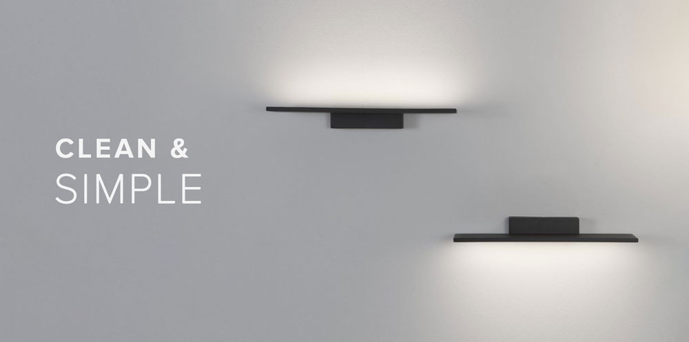 Clean and Simple Wall Lights