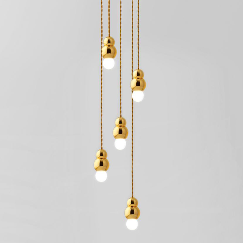 Ball light 5 ceiling rose suspension by michael anastassiades aloadofball Gallery