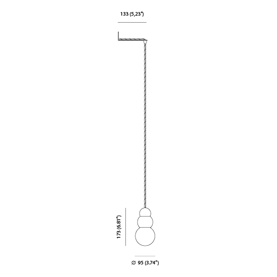 Ball light large wall bracket by michael anastassiades 97500 113000 code ball light large wall bracket ccuart Images