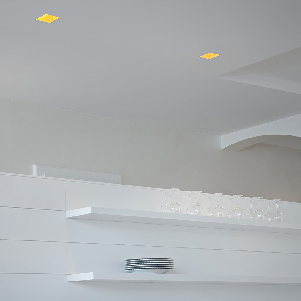 Flos Kap Square.Kap Recessed Square Trimless By Flos Architectural In Canada