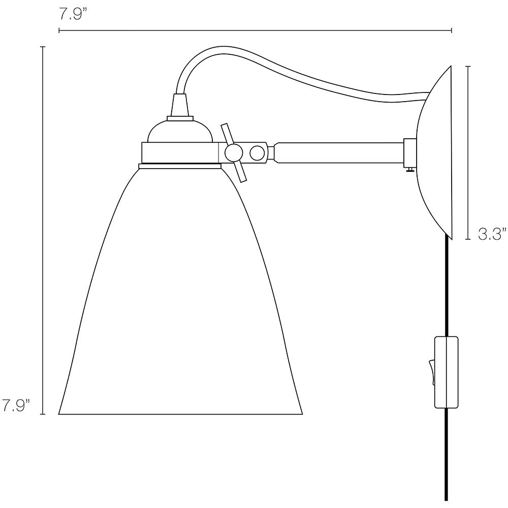 original btc hector gleat lamp)