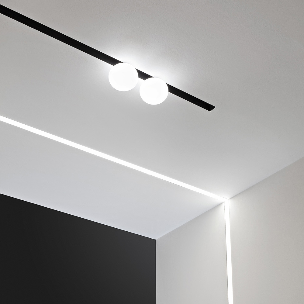 The running magnet 20 track light strip by flos architectural in canada aloadofball Image collections